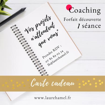 carte cadeau coaching - 1 séance