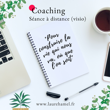 Séance en visio coaching laure hamel